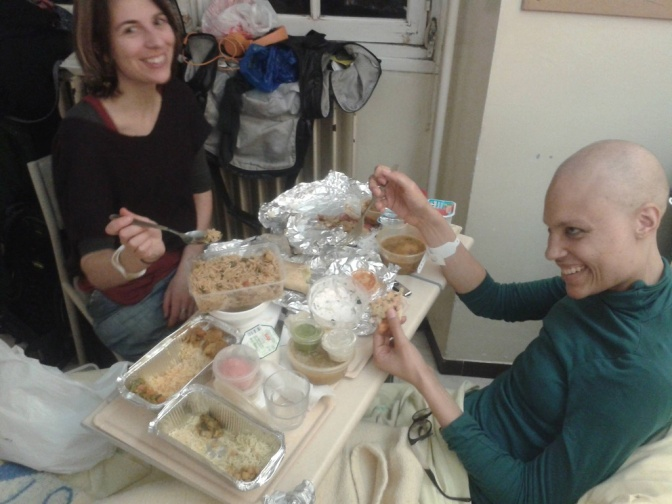 Un dîner presque parfait : how a shared meal can sweeten a hospital stay