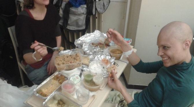 Un dîner presque parfait : how a shared meal can sweeten a hospital stay