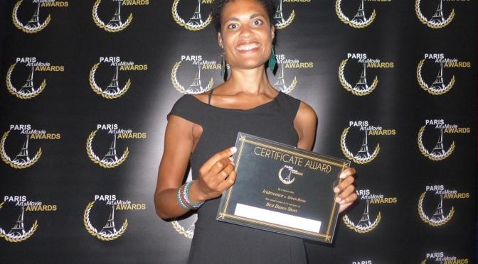 Un quatrième prix pour «Iridescence»!/4th film prize for «Iridescence»