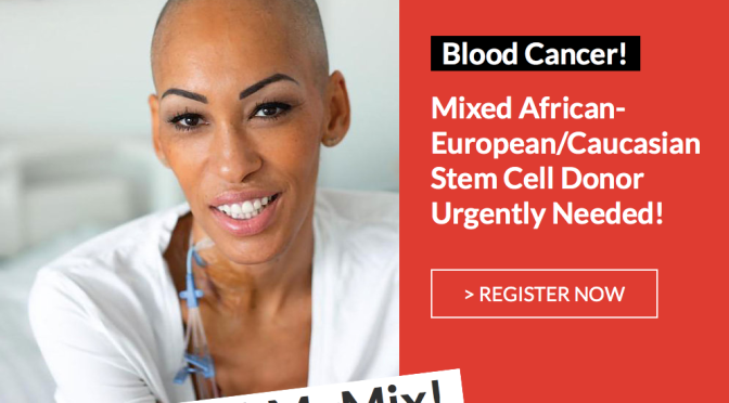 Astrid, Mahé, Susie et les autres: The difficult race of People of Colour fighting blood cancer.