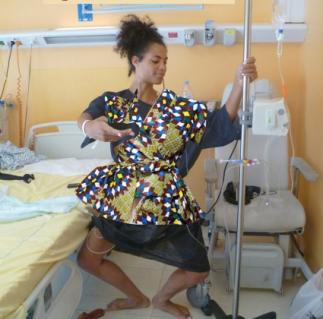si j'avais pu créer ma blouse d'hôpital...;)